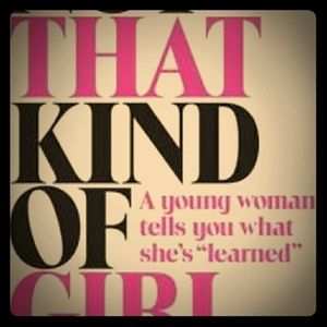 """Book """"Not That Kind of Girl"""" by Lena Dunham"""